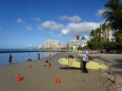 虹の研究,32回目のハワイ,今回はJAL便,ロイヤル・クヒオ滞在,5泊7日(その2)