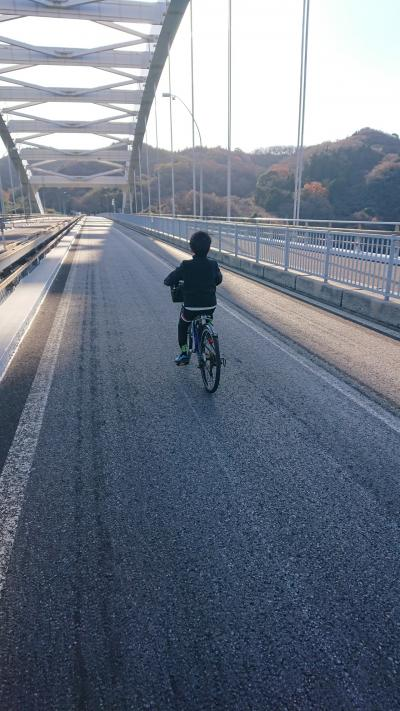 小学生と行く、しまなみ海道サイクリング旅 (尾道+奈良&宇治)