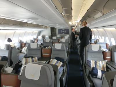 ルフトハンザ航空ビジネスクラス搭乗記(フランクフルト→ソウル)ちょっと変な旅行記ですが、豊かな老後のための健康とお金と生きがい(私の実践例)