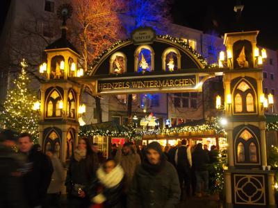 モンシャウ&アーヘン ケルン~マインツ クリスマスマーケット巡りの旅 2018