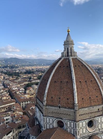 イタリア満喫7泊9日  フィレンツェでは念願だったドゥオーモのクーポラに!