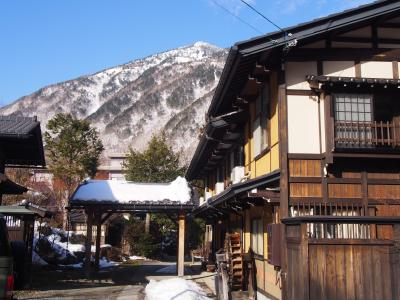 奥飛騨で温泉民宿もありかな