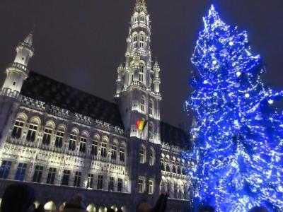 2018~2019年チョコレート食べ比べのベルギー旅行ブリュッセル前編