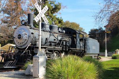 ぴこたび年の瀬ロサンゼルス2018☆~【3】グリフィスパークと鉄道博物館