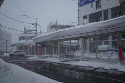 年末寒波の中、冬の日本海側を北上。1日目 目指せANAクラウンプラザホテル新潟。