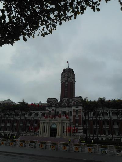 クリスマスin台湾(残念ながら雨)(3)「総統府見学」