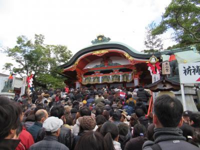 毎年お正月は、京都の伏見稲荷に初詣。