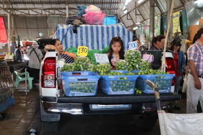 タイ チエンマイの市場