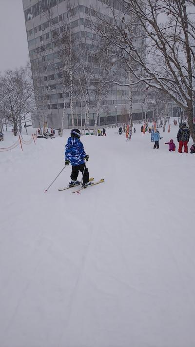 水上高原スキーリゾート日帰りスキーの旅★長男初スキー!