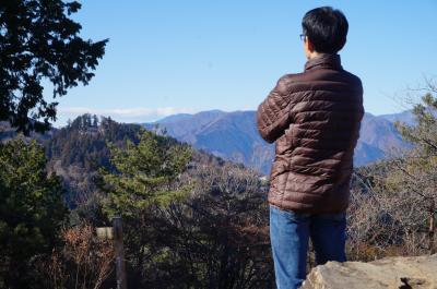 2019年も元旦は山行 御岳山から日の出山へ