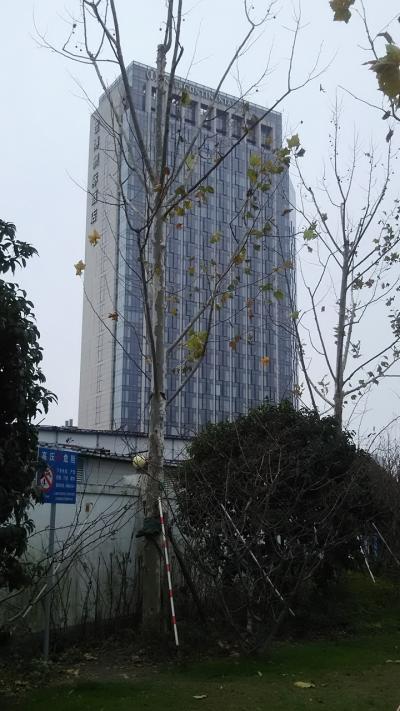 """年末年始、ほぼ""""ぼっち""""の上海①「周りに何にもない、インターコンチネンタル上海エクスポ宿泊を満喫する件」"""