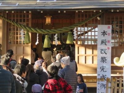 今年の初詣に神明社を訪問しました
