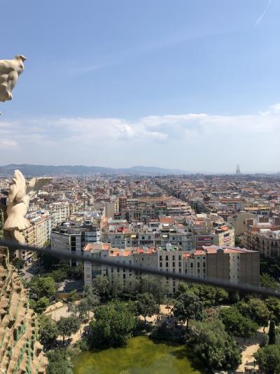 海外初心者 スペインに行ってみる。4日目 初心者VSサクラダファミリアとねじれたハートのピエロ
