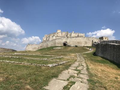 ポーランドとスロバキアの旅13日間⑯ 世界遺産スピシュ城