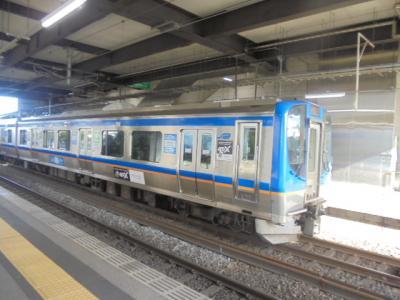 元旦空の旅ー4 仙台空港駅から各駅停車乗り継ぎで 東京駅まで