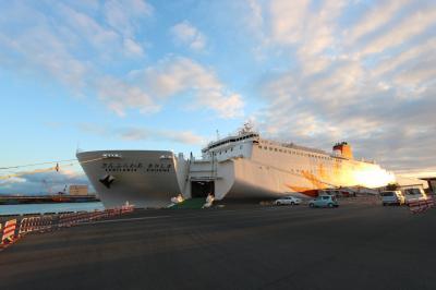 船上年越し★新造船【きりしま】で行く「霧島」と、1泊2日帰路の旅「広島」①
