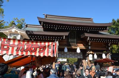 湊川神社と新開地