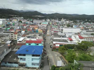 タイ最南端の町ベトン…世界一の郵便ポストを見に行く