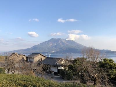 初めての鹿児島 (城山・指宿)の旅 3泊4日*** SHIROYAMA HOTEL KAGOSHIMA ・指宿白水館 離宮泊