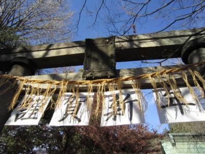 冠稲荷神社で初詣