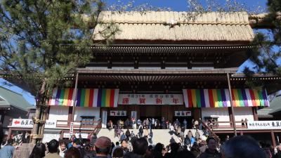 2019年 初詣は、ヒルトン成田に泊まって成田山新勝寺へ。お正月ムードの銀座の街も歩きました。