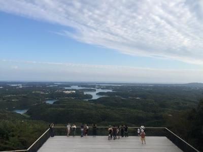 日本の美しい展望台トップ10入り「志摩 横山展望台」の旅