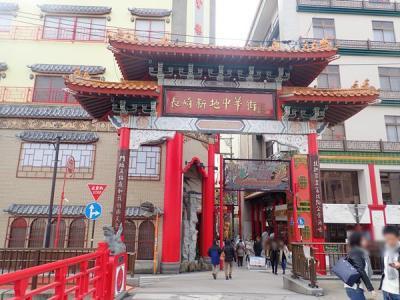 九州縦断旅(34)長崎新地中華街と国宝・崇福寺
