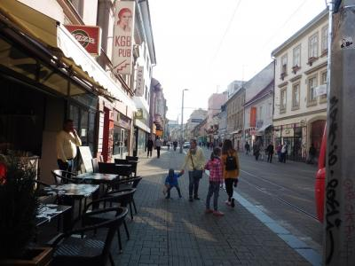 ハンガリー と周辺国をめぐる一人旅(4) スロヴァキア ブラチスラヴァ  アジア的雰囲気の旧市街