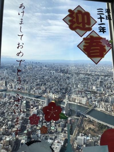 東京年末年始ぶらっと6日間