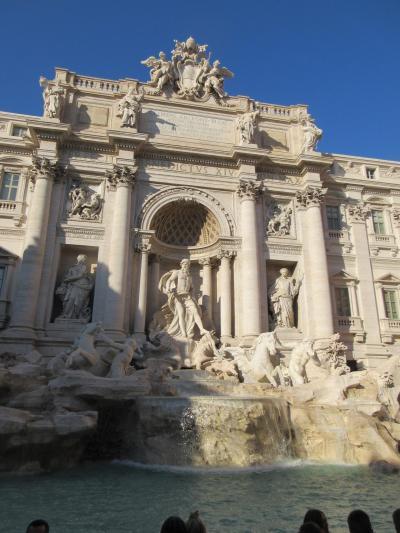 海外 初一人旅 ローマ ナポリ シチリア 1日目 2日目