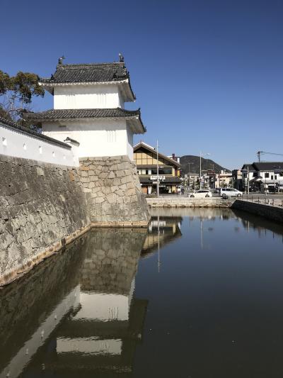 兵庫県の城跡巡り:赤穂城跡。赤穂浪士の里、平城で巧みな石垣。