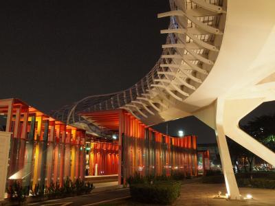 2回目の台湾旅No.14<高雄3>アートを楽しむ駁二芸術特区 旗津で見る夕日と海鮮料理 前鎮之星の夜景を楽しもう