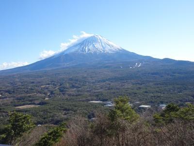 年末・年始の旅 後半は初富士を静岡側と山梨側と両方から観賞!相模湖イルミリオンも美しかった!