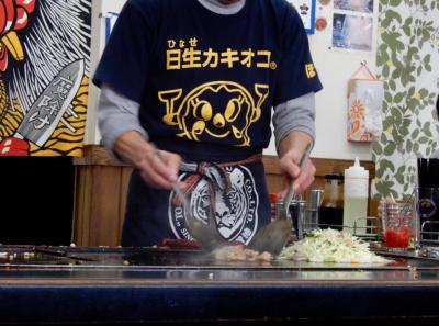 牡蠣のシーズン到来♪今年も行ってきました! カキオコ食べに岡山県の日…