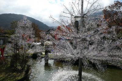 秋の優雅な箱根旅行♪ Vol.14 仙石原:ガラスの森美術館 紅葉ときらめくガラスの競演♪