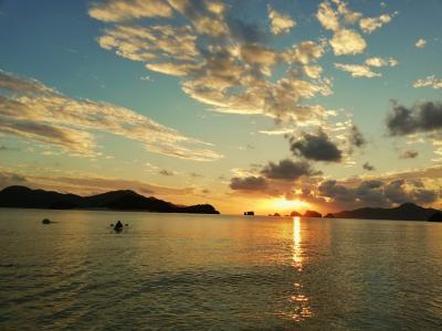 ~世界が恋する海~ 座間味村は空も海も綺麗でのんびり出来る島でした。