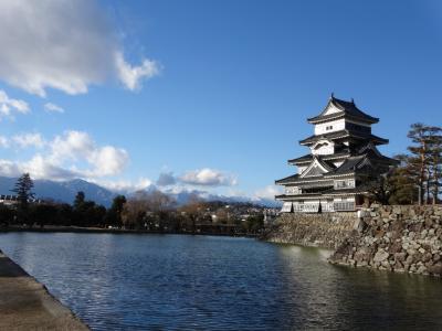 日本100名城を行く(松本城)