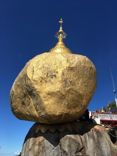 平成最後は他人にも自分にも優しい国へ~ミャンマー2日目、22日、ゴールデンロックは離れて見よう!~