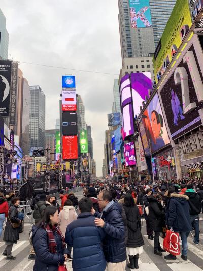 2018_ニューヨーク(2回目)_年末年始の旅(1日目)