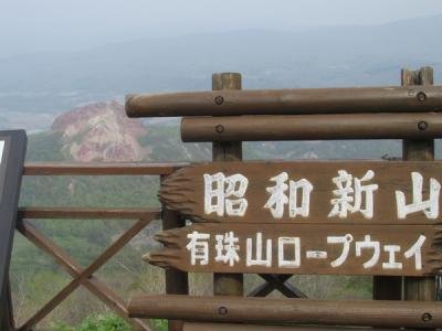 北海道・惜別北斗星の旅(10)有珠山と昭和新山
