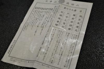 平成最後のお正月、成田山へ行き当たりばったりのお参り ご加護がありますように・・・