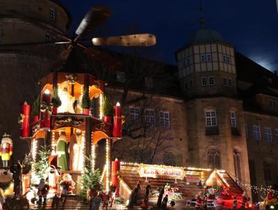 2018クリスマスマーケットin南ドイツ 2日目:シュトゥットガルト(PMクリスマスマーケット)
