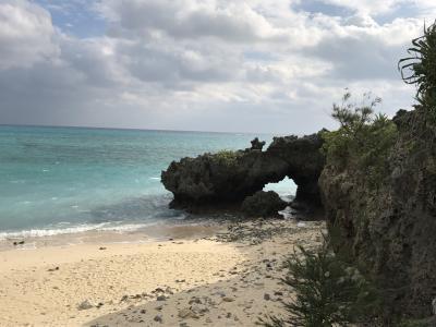 沖縄・与論島 船の旅 6日目 与論島からフェリーあけぼので本部へ 2019.1.6