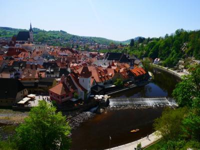 チェコ・オーストリア ひとり旅③ -3日目:チェスキークルムロフ・ザルツブルク観光-