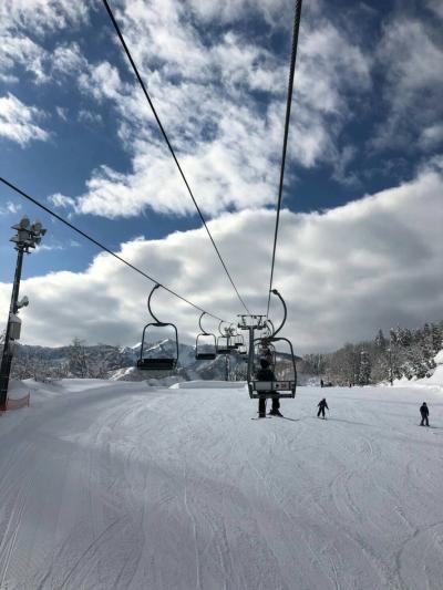 親子スキー IN NASPA スノーボードが居ないスキー場