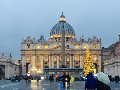 バチカン、ローマのクリスマス in 2018