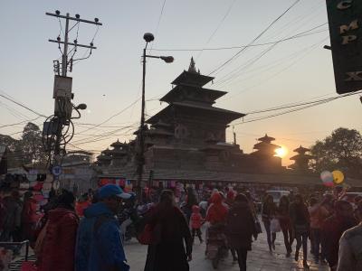 2018年12月末ネパールエベレスト街道トレッキングの旅・シンガポール経由①