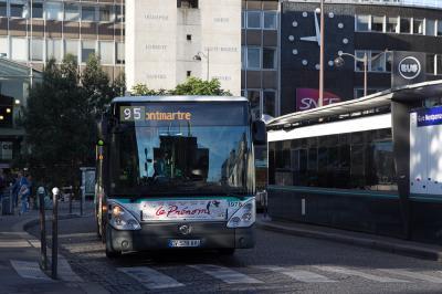 フランス旅行記 Part32(バスでルーブル美術館編)