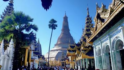 2019年 初ミャンマー(ヤンゴン)& タイ(バンコク)1回目の一人旅4 ヤンゴン編【現地3日目】