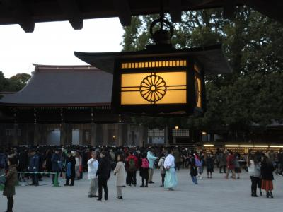 明治神宮 平成最後の初詣 The first visit of the year to Meiji-Jingu 2019